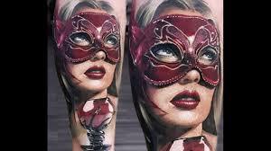 маски в тату не только театральные значение виды фото и