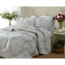 laura ashley rowland reversible quilt set hayneedle