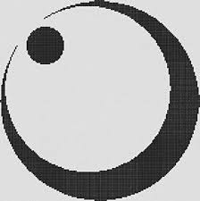 Amazon クロスステッチ刺繍用図案 日本の家紋シリーズ月星紋