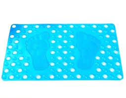 non slip bathtub mat bath and shower with effective suction cups secure doormats for home bathroom