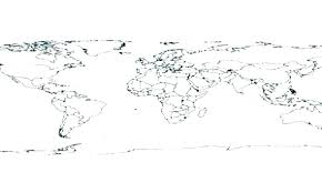 Coloring Page World Map Pages Maps En Pictures Countries