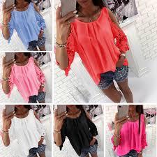 <b>LOSSKY Womens</b> Tops And Blouse Shirt <b>2018 Summer</b> Top Casual ...