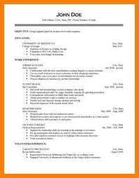 Different Styles Of Resumes 7 Different Styles Of Resume Dragon Fire Defense