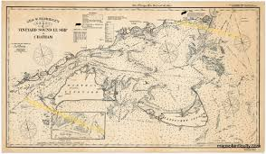 New England Nautical Charts A Customer Favorite Reproduction Of Antique Nautical Chart