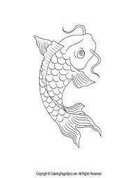 Small Picture Fishes Coloring Pages Rainbow Fish Coloring Page Pictures Fish