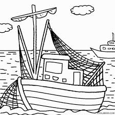 Small Picture Fishing boat coloring pages 1 Nice Coloring Pages for Kids