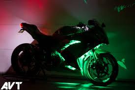 Ninja 650 Led Light Kit Avt Innovations Ninja 300 Body Glow Led Light Kit