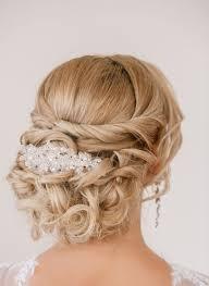 Coiffure Mariage Cheveux Long Chignon Boucles Tresse Bijou
