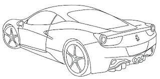 Ferrari Coloring Pages Garagedoortk