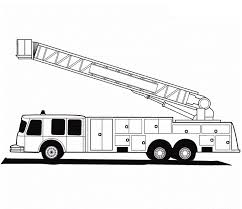 Small Picture free coloring pages of a fire truck 435 Gianfredanet