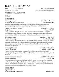 Best Working Student Resumes ResumeHelp Extraordinary Working Student Resume Sample