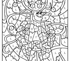 Free Color By Number Coloring Pages Houseofhelpccorg