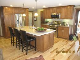 Furniture Islands Kitchen Narrow Kitchen Island With Chairs Bar Stools Pendant Lamp Wooden