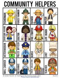 Our Community Helpers Chart Newest Community Helpers Chart Community Helpers And