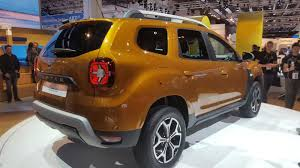 2018 renault duster. wonderful 2018 renault duster unveiled at 2017 frankfurt show to 2018 renault duster t