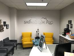 office feature wall. Interior Signs, Lobby Logo Dimensional Signage, Sintra Material, Logo. Shepard Law \u2013 Feature Wall Sign Office T