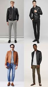how to wear a leather er jacket