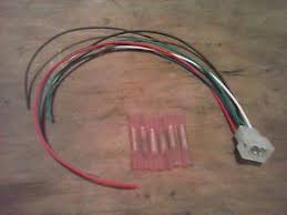 fisher minute mount 6 pin joystick controller plug repair harness image is loading fisher minute mount 6 pin joystick controller plug