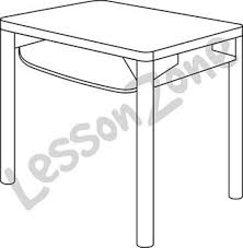 desk clipart black and white. desk b\u0026w clipart black and white