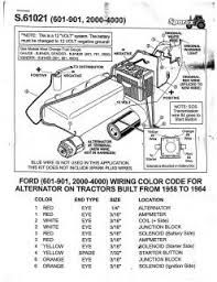 ford tractor wiring diagram ford image wiring 1964 ford 4000 tractor wiring diagram jodebal com on ford 600 tractor wiring diagram