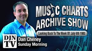 Phil Collins Tops The Charts With What The Music Charts Archive Show July 7 With Dan Cheney Djntv