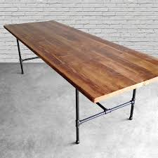 large reclaimed wood conference table  custom recycled furniture