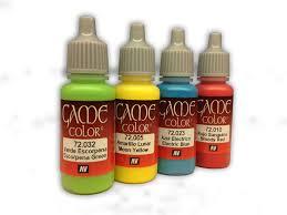 Citadel Gw Vallejo Game Colour Paint Comparison Chart