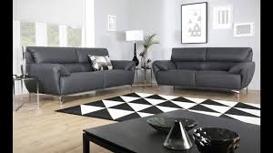 furniture choice. enzo grey leather sofa range by furniture choice