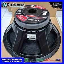 Speaker P Audio 18 Inch. Component Speaker P Audio 18 Inch. P Audio  ORIGINAL. Speaker Berkualitas