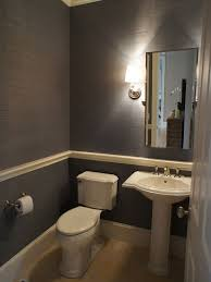 awesome pictures of chair rail traditional powder room simple and beautiful the chair railing detail rather than a full up wainscoting