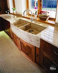 granite farm sink. Plain Farm Kashmir Gold Granite Farm Sink And Perimeter Kitchen Worktop Intended A