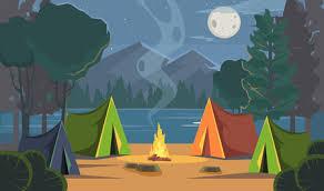 Camping Cliparts, Stock Vector and Royalty Free Camping Illustrations
