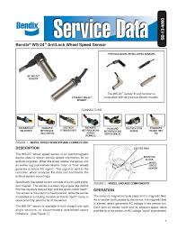 vehicle speed sensor wiring diagram wirdig antilock wheel speed sensor from bendix  speed sensor  sensorzine