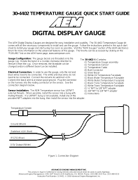 aem boost gauge wiring diagram aem wiring diagrams