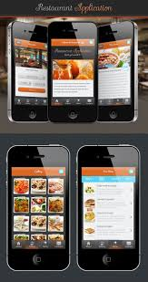 restaurant menu design app pin on mobile ui