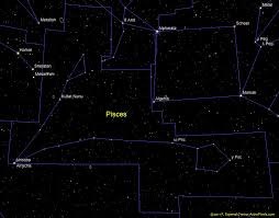 Pisces Constellation Star Chart Pisces Psc