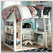 bunk bed office underneath. Queen Loft Bed With Desk Kids Design Workstation Underneath Play . Bunk Office