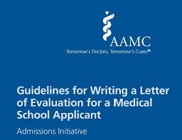 Medical School Letter Of Evaluation Example
