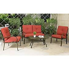 Amazon Best Choice Products 4 Piece Cushioned Patio