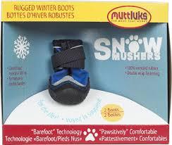 Muttluks Snow Musher Dog Boots Blue