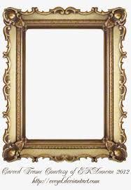 carved gold frame by ekduncan by eveyd vintage gold frames png transpa png