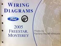 2005 ford f150 truck electrical wiring diagrams original manual wiring diagrams 2005 ford star mercury monterey