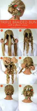 best 25 easy wedding hairstyles ideas on pinterest easy chignon Wedding Hairstyles Step By Step pretty braided hairstyle ~ perfect for a bridal updo or for the flower girl fancy hairstyles step by step for wedding