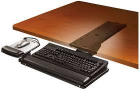 photo 9 of 12 feature list beautiful adjule keyboard tray under desk 9