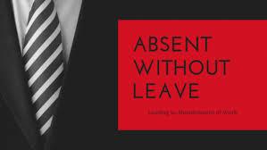 Employee Absent Awol Applies When Employee Fails To Render 30 Days