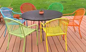 wrought iron garden furniture. Beautiful Garden View In Gallery Repainting Wrought Iron Is Easyu2014with Spray Paint To Wrought Iron Garden Furniture