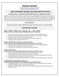 Rig Welder Sample Resume Rig Welder Resume Samples Visualcv Database