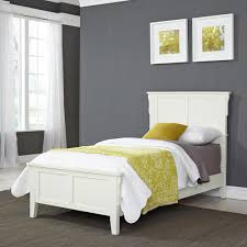 Home Styles Arts and Crafts White Twin Bed Frame-5182-400 - The Home ...