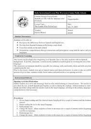 Lesson Plan Template Texas High School Free Creative Teacher Resume ...