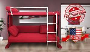 couch bunk bed. Image Is Loading Convertible-Sofa-Bunk-Bed-Space-Saving-Furniture-Transform- Couch Bunk Bed C